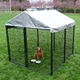 Akc Pro-Breeder Kennel With Cover And Anchors, 10 by 10 by 6-Feet