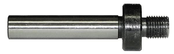 1/2 Straight Shank to 1/2-20 Threaded Drill Chuck Arbor