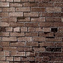 Dark Brown Brick Seamless Paper