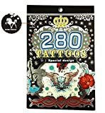 Tapp Collections 280 Temporary Tattoos - M1 Style