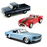 Best of 1960s Muscle Cars Diecast - Set 53 - Set of Three 1/24 Scale Diecast Model Cars