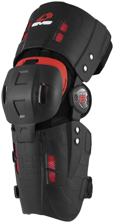 Evs Rs8 Knee Brace Black S/Small Right catalog zashchita evs sport back blk single html