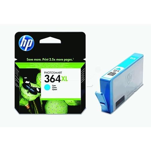HP - Hewlett Packard DeskJet 3521 (364XL / CB 323 EE#301) - original - Ink cartridge cyan - 750 Pages - 6ml