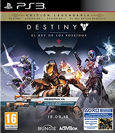 Destiny: El Rey De Los Poseídos - Edición Reserva