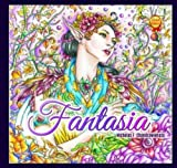 Fantasia Adult Coloring Book - Second US Edition