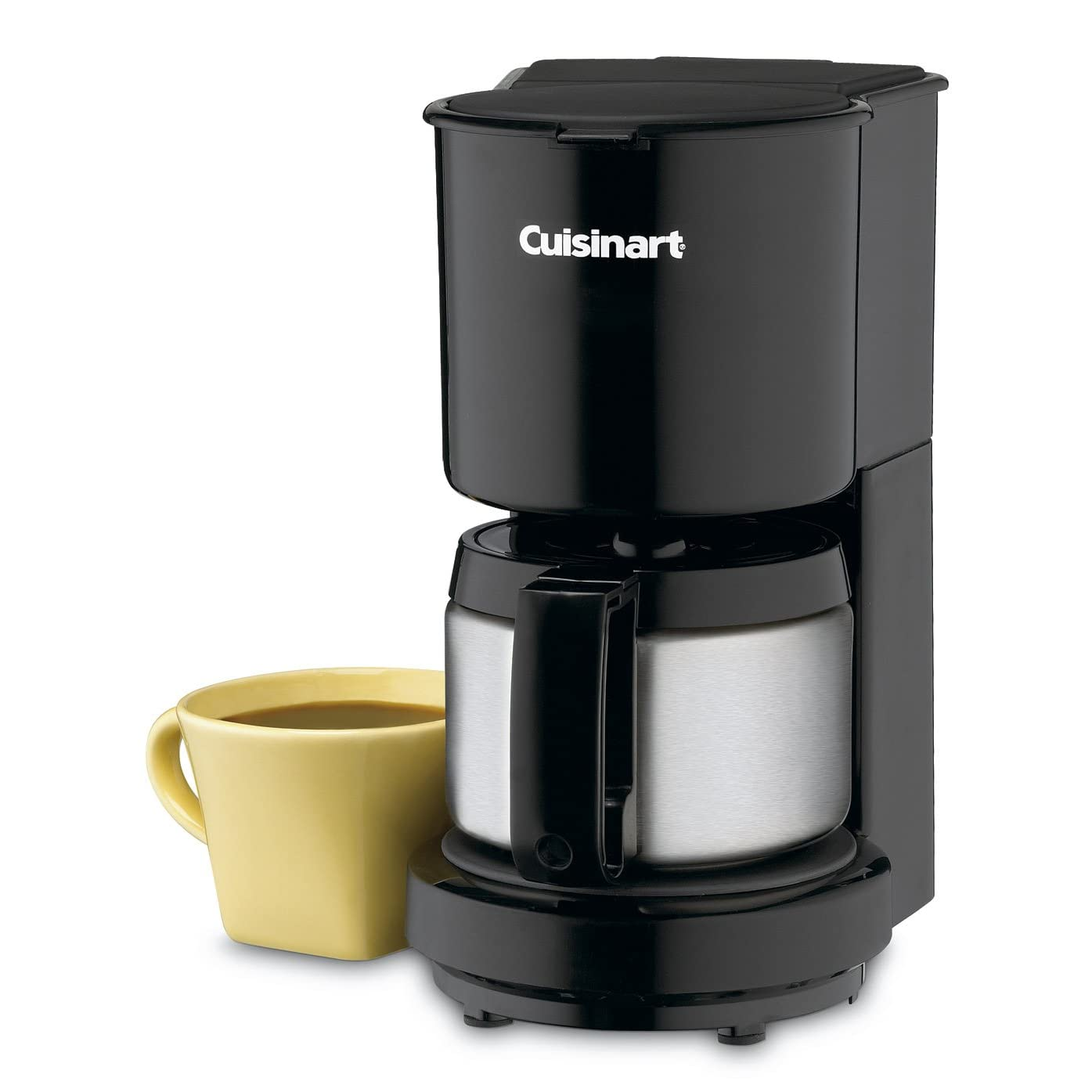 Front view of a Cuisinart 4-cup coffee maker