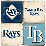 Tampa Bay Rays Logo Drink Coasters at Amazon.com