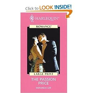 The Passion Price (Harlequin Large Print) Miranda Lee