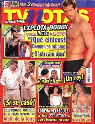 TVnotas 2007 Abril 3 - Gabriel Soto: poster + 3 pages