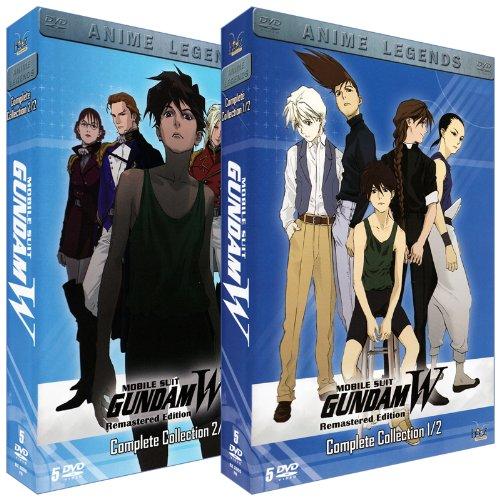 新機動戦記ガンダムW DVDBOX (1-49話, 1200分)[PAL, DVD-Video] [Import] -