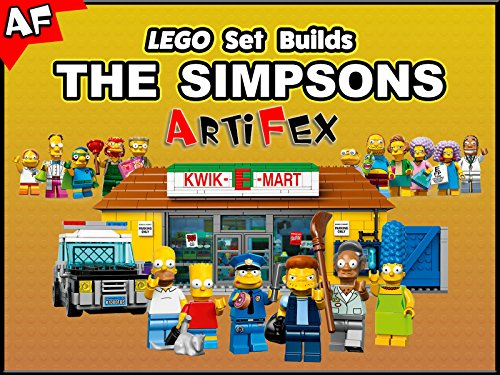 Clip: Lego Set Builds The Simpsons - Season 1