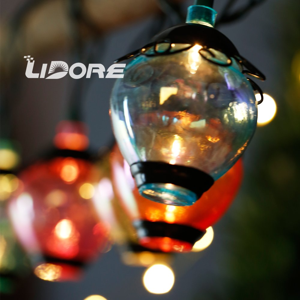 LIDORE Ancient Lantern String light. New verson. 110V, Warm White Light 1