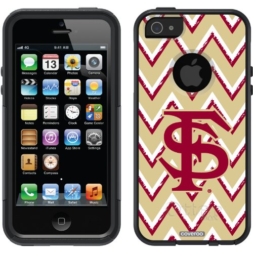 Special Sale Florida State Sketchy Chevron design on a Black OtterBox® Commuter Series® Case for iPhone 5s / 5