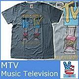 (ジャンクフード)JUNK FOOD Tシャツ MTV エムティービー ジャンクフード 5069 メンズ 半袖 T シャツ ミュージック 音楽 ロック バンド JUNKFOOD MENS MTV TEE MT375-7730 [並行輸入品]