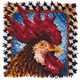 Wonderart 426210 Rooster Latch Hook Kit 30 x 30cm