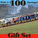 The Movement For Change Express: Collectible Barack Obama Train Set by Hawthorne Village