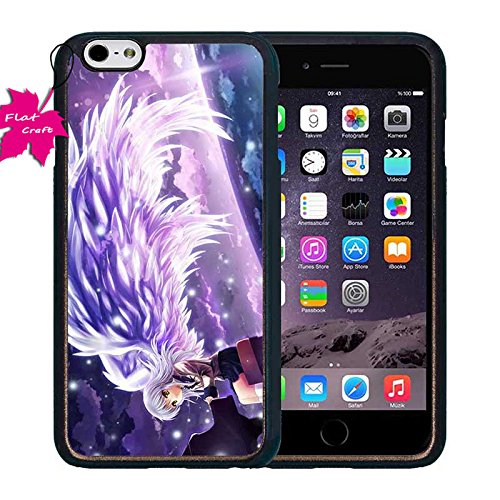 Iphone 6 Plus Custodia Case, Dirt Resistent Phone Accessories Anime Angel Beats Protective Plastic Custodia Case Per Iphone 6 Plus & 6S Plus 5.5 Pollici