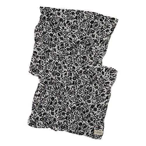 (デニム&サプライ ラルフローレン)Denim&Supply Ralph Lauren スカーフ Gauze Skull Scarf ブラック/ホワイト Black/White 【並行輸入品】