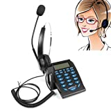 Baile Hands-free Corded Telephone with Headset and Noise Cancellation for House Call Center and Office