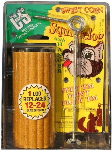 Cheap C & S Products Sweet Corn Squirrelog with Hanger, 12-Piece (CS610)