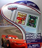 Disney PIXAR The World of Cars Window Wonders Window Art, 10 Piece Set