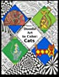 Doodle Art to Color: Cats