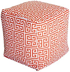 Majestic Home Goods Towers Cube Small Orange