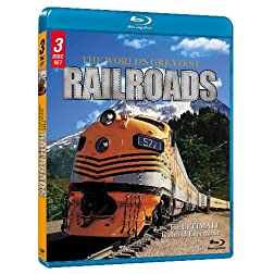 The World's Greatest Railroads (3-Pk) [Blu-ray]