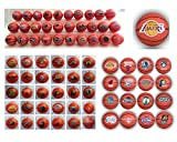 "NBA National Basketball Association Complete League Set of 30 Teams 2"" Mini Basketballs Featuring Atlanta Hawks, Boston Celtics, Brooklyn Nets, Charlotte Bobcats, Chicago Bulls, Cleveland Cavaliers, Dallas Mavericks, Denver Nuggets, Detroit Pistons, Golden State Warriors, Houston Rockets, Indiana Pacers, La Clippers, La Lakers, Memphis Grizzlies, Miami Heat, Milwaukee Bucks, Minnesota Timberwolves, New Orleans Pelicans, New York Knicks, Oklahoma City Thunder, Orlando Magic, Philadelphia Sixers, Phoenix Suns, Portland Trail Blazers, Sacramento Kings, San Antonio Spurs, Toronto Raptors, Utah Jazz and Washington Wizards"