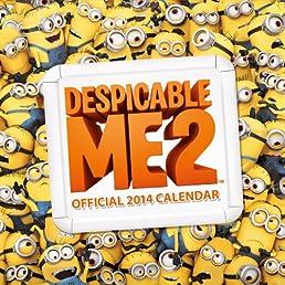 DESPICABLE ME 2014  CALENDAR (Calendars 2014)