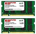 Komputerbay 4GB 2X2GB DDR2 667MHz PC2...