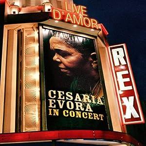 Amazon.com: Live d' Amor: Cesaria Evora In Concert: Cesaria Evora
