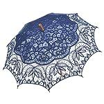 JSTEL Compact Ultra-light and Portable Travel Foldable Rain Umbrella Paris Vintage Pattern
