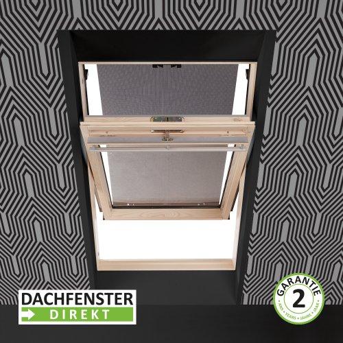 solstro markise au enmarkise hitzeschutz f r dachfenster passend auf velux in farbe schwarz 66. Black Bedroom Furniture Sets. Home Design Ideas
