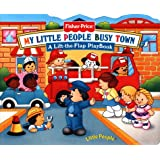 Fisher Price Busy Town Lift the Flap (Fisher-Price Little People Mini-Flap PlayBooks)
