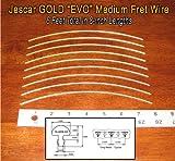 Guitar/Banjo Fret Wire - Jescar GOLD Medium/Medium Gauge