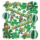 Beistle 33605 37-Piece St. Patrick Decorating Kit