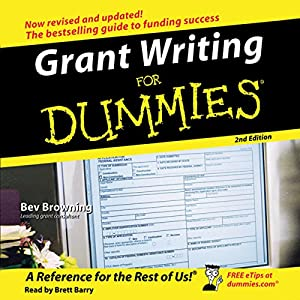 Grant Writing for Dummies, 2nd Edition Audiobook