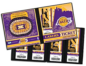Los Angeles Lakers Ticket Album by That