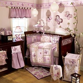 Cool CoCaLo Sugar Plum Piece Crib Bedding Set