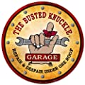 Busted Knuckle Garage BKG-22-SP Giant Round Shop Sign