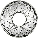 Distressed Silver Sun Wall Mirror - OS239