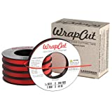WrapCut, Edge Cutting Tape, 1/8-Inch X 200 Feet, 5-Pack (Tamaño: 1/8-Inch X 200 Feet, 5-Pack)