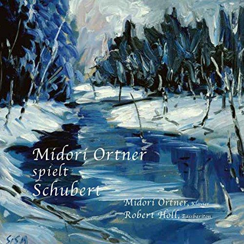 みどり・オルトナー / シューベルトの世界 II (Midori Ortner spielt Schubert / Midori Ortner (Klavier), Robert Holl (Bassbariton)) (2CD)