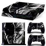 Adventure Games - PS4 ORIGINAL - Batman and Joker - Playstation 4 Vinyl Console Skin Decal Sticker + 2 Controller Skins Set (Tamaño: PlayStation 4 ORIGINAL)