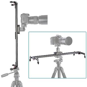 """Neewer® Pro (Produit de Neewer® Version Pro) 47""""/ 1.2M Slider Vidéo Stabilisateur pour Objectif Lourd Système de Linéaire 5KG/176 Once + Sac"""