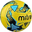 Mitre Malmo Training Football - Yellow/Black/Blue, Size 4