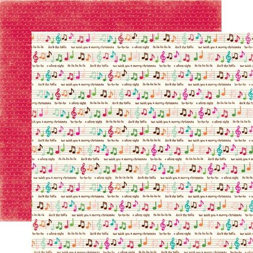 Echo Park Holly Jolly Christmas Fa la la la Scrapbookingpapier