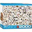 Eurographics the World of Dogs Puzzle (2000 Pieces)
