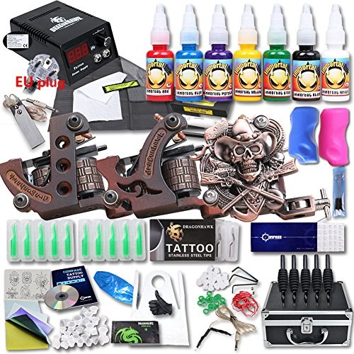 dragonhawk-professional-great-tattoo-starter-tattoo-kit-3-machine-7-usa-brand-color-inks-top-ce-powe